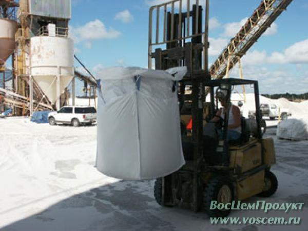 Производство сухая смесь М100 в биг-бегах
