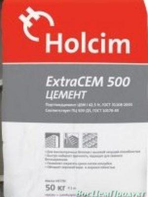 Цемент в мешках М500 ExtraCEM 500 (ЦЕМ II/А-Ш 42.5Н) производство Holcim
