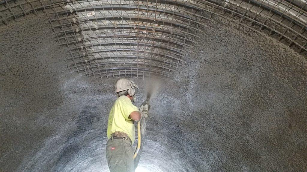 Преимущества торкрет-бетона TORKRET QUICK BETON