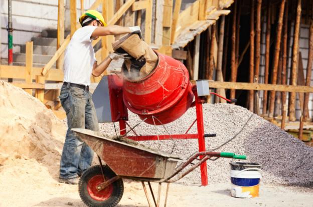 Как приготовить строительную смесь