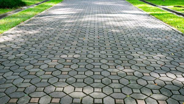Сухая смесь для укладки тротуарной плитки