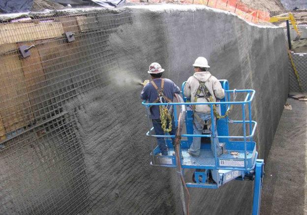 Что такое торкрет-бетон и торкретирование.